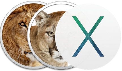Mountain Lion, Mavericks, and Yosemite