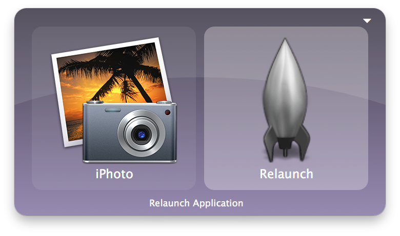Quicksilver launcher application for Mac OS X